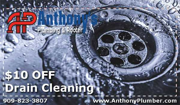 Anthony's Plumbing is Alta Loma's best drain cleaning company.