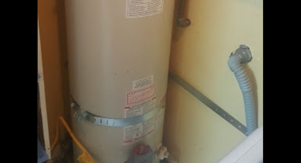 Water heater straps in Fontana 92335 on Williams Road and Arrow Blvd